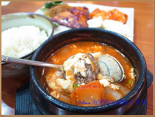 吃到飽,嫩豆腐,美食,釜山,韓國,韓式 @Helena's Blog