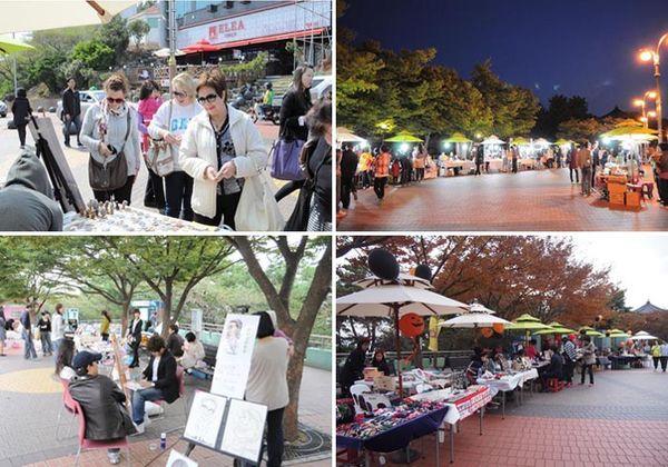 景點,海雲台,自由市場,迎月嶺,釜山,韓國 @Helena's Blog